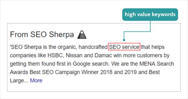 Using Keywords In Google M Business Description