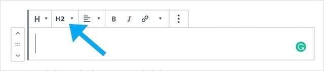 Heading Tag Selector WordPress