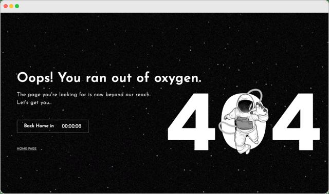 Matra Labs 404 Error Page