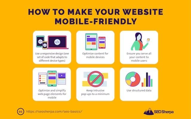 Mobile Friendly Website Tips