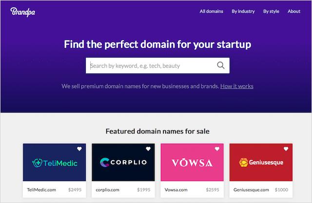 Brandpa Domains