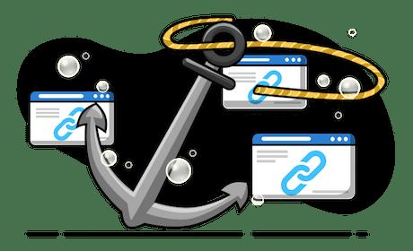 Anchor Text Transparent
