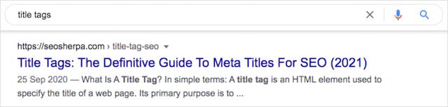 Definition Meta
