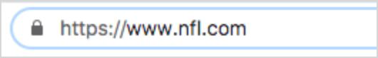Secure NFL domain