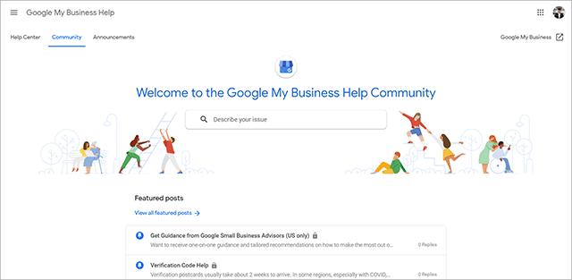 Google My Business Community Forum