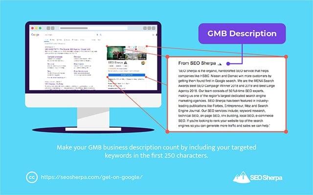 Google My Business Description